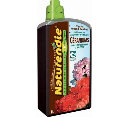 Engrais spécial Géranium