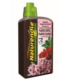 Engrais spécial Plantes vertes et fleuries d'intérieur