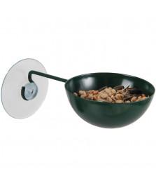 Coupe mangeoire à ventouse pour oiseaux