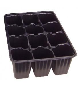 5 Plaques de semis 12 alvéoles (4cm de côté)