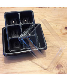 Kit de semis avec mini-serre