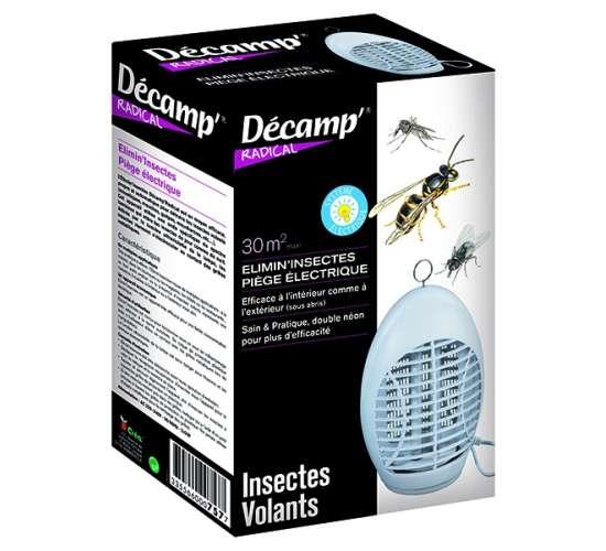 Piège électrique anti moustiques et insectes volants
