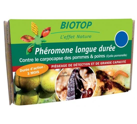 Phéromones Cydia pomonella Carpocapse des pommes et des poires longue durée