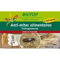 Trichogramme contre la Mite alimentaire, 4 diffuseurs