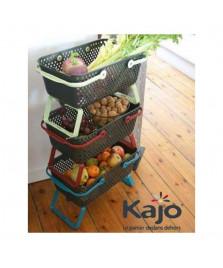 Lot de 3 Paniers de récolte Kajo 15l