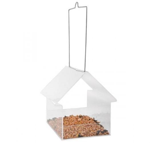 Mangeoire suspendue transparent