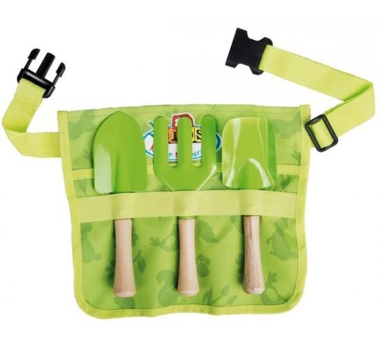 Tablier Enfant avec outils de jardin ass.