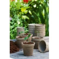 96 pots biodégradables 6 cm rond