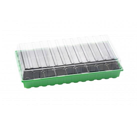 Mini-serre XL PLUS pots en plastique