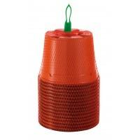15 pots en plastique 13 cm rond