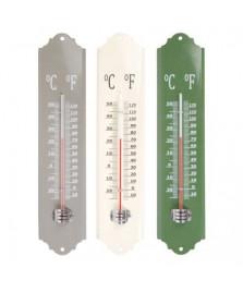 Thermomètre métal 30 cm