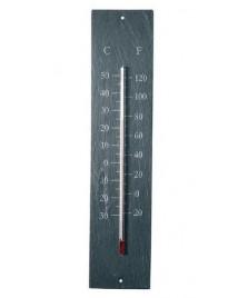 Thermomètre en schiste 45 cm