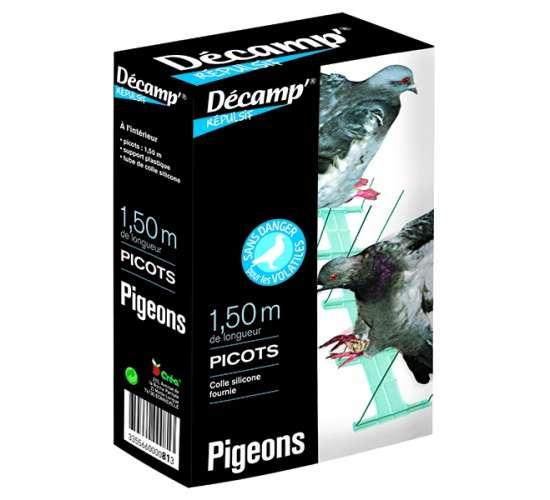 Picots pigeons et autres oiseaux