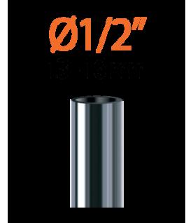 "Raccord pour tuyau 1/2"" (13 - 16 mm) - 1/4"" (4 - 6 mm)"