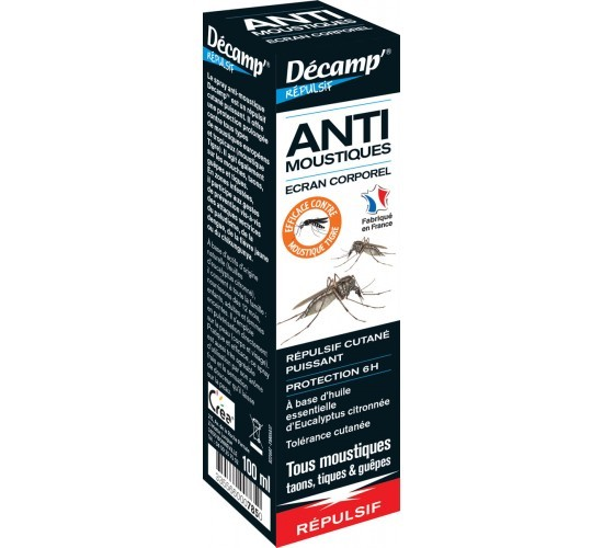 Spray corporel anti-moustiuqes
