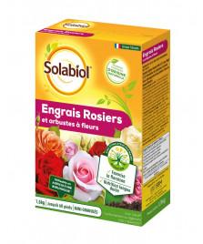 Engrais rosiers et arbustes à fleurs