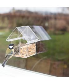 Mangeoire fenêtre combi acrylique