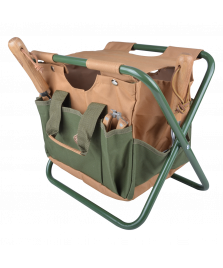 Chaise pliante range-outils