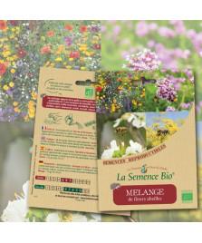 Graines de MELANGE de fleurs abeilles BIO
