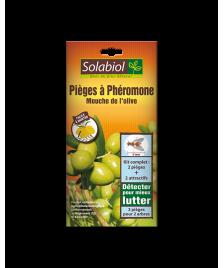 Piège à phéromone mouches de l'olive