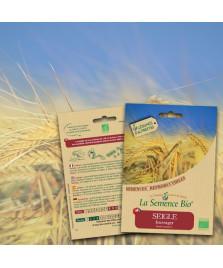 Graines de SEIGLE Fourrager Bio