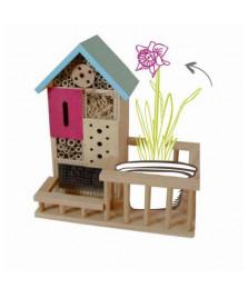 Garden hôtel - hôtel à insectes