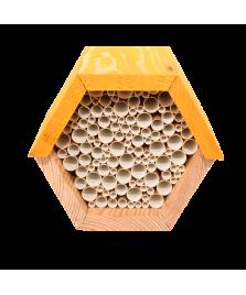 Maison à abeilles hexagonale