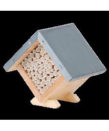 Maison à abeilles carrée