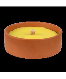Bougie à la citronnelle pot en terre cuite