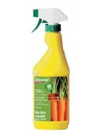 Barrière contre la mouche de la carotte