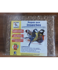 Repas à base de graisse et insectes 300g