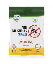 Spirales anti-moustiques biodégradable x10