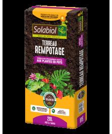 Terreau rempotage pour plantes en pots 20L