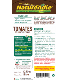 Engrais tomates et légumes du potager