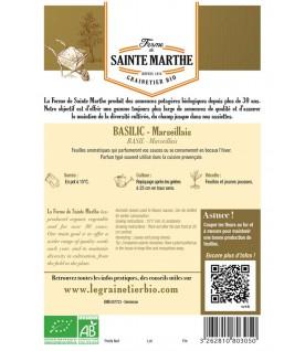 Graines de Basilic Marseillais AB