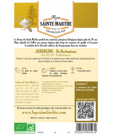 Graines d'Aubergine De Barbentane AB