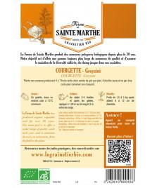 Graines de Courgette Greyzini AB
