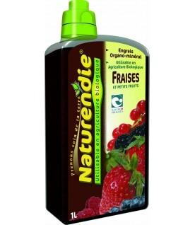 Engrais fraises et petit fruits