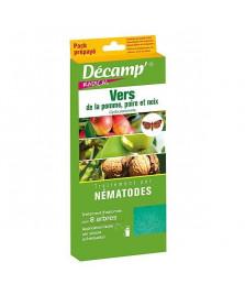 Nématodes contre le carpocapse de la pomme, poire et noix