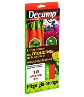 Piège à glu contre la mouche de la carotte