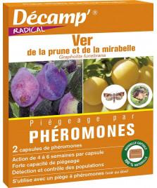Phéromone ver de la prune et de la mirabelle
