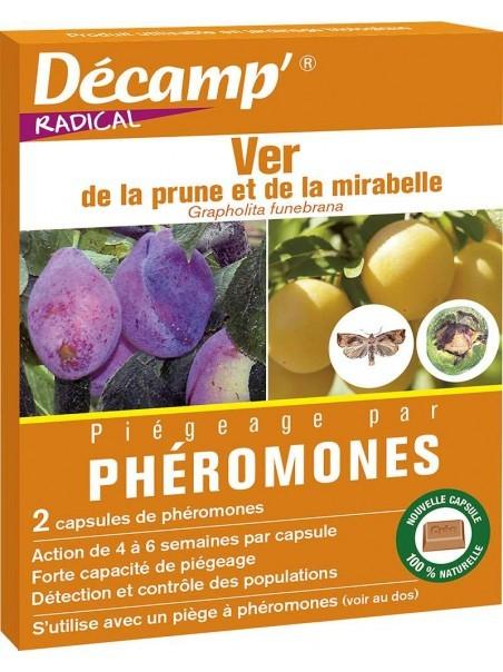 Phéromone contre le ver de la prune et de la mirabelle
