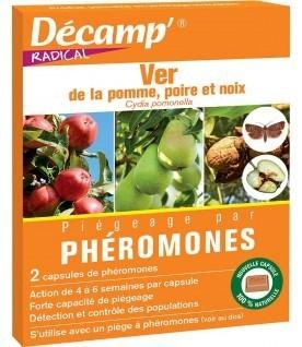 Phéromone contre le ver de la pomme, poire et noix