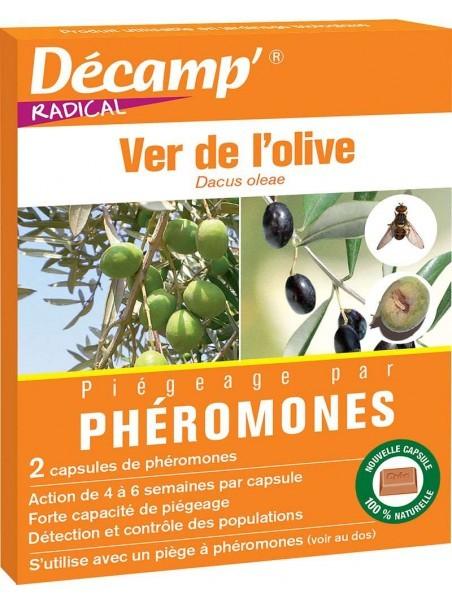 Phéromone contre le ver de l'olive