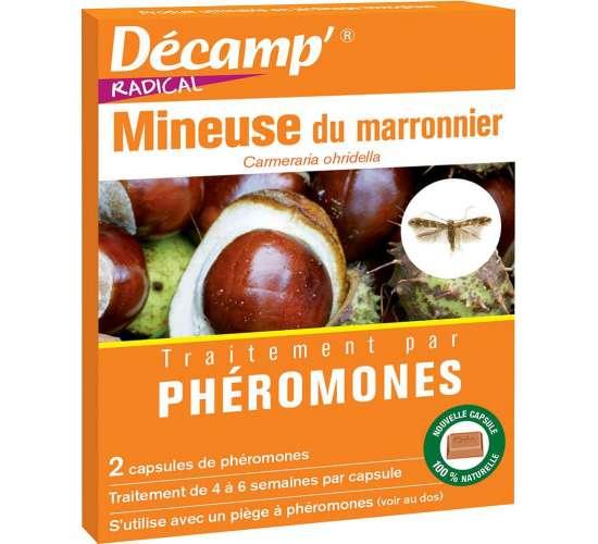 Phéromone contre la mineuse du marronnier