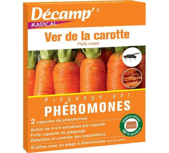 Phéromone contre le ver de la carotte