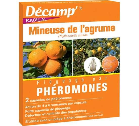 Phéromone contre la mineuse de l'agrume