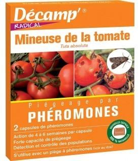 Phéromone contre la mineuse de la tomate