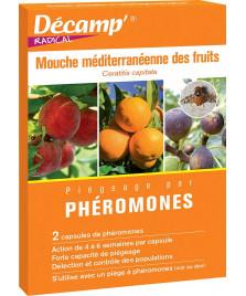 Phéromone contre la mouche méditerranéenne des fruits
