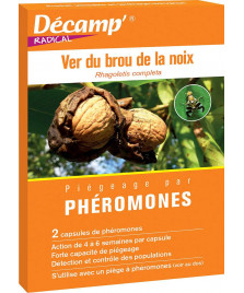 Phéromone contre le ver de la noix